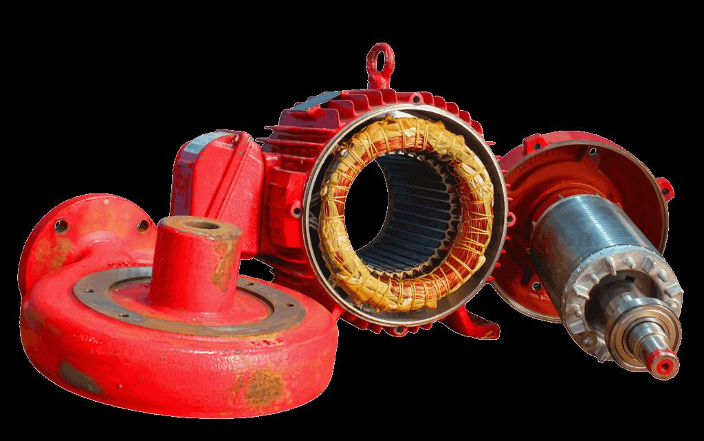 Conserto de Bombas e Motores