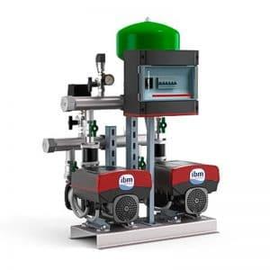 Sistema de Pressurização Grundfos com inversor Hydro